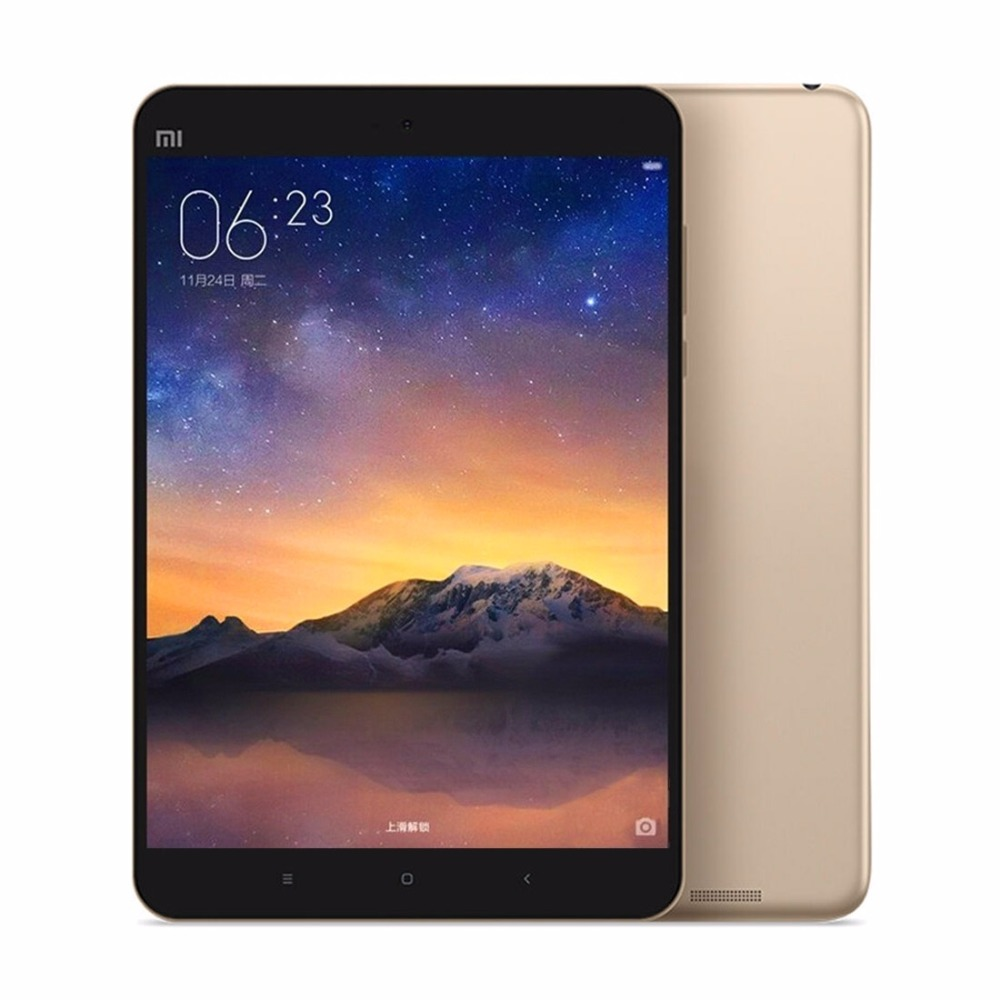 Original Xiaomi Mipad2 MI Pad 2 Intel Quad Core 7.9 Inch MIUI 7.0 Metal Tablet PC 2048X1536 2GB RAM 16GB/ 64GB ROM 8MP 6190mAh