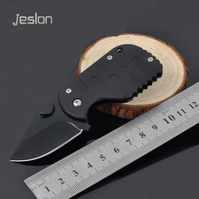 Jeslon Creative Mini Folding Knife Survival Tactical Camping Hunting Knife Outdoor Rescue Pocket Knives for Girlfriend Best Gift