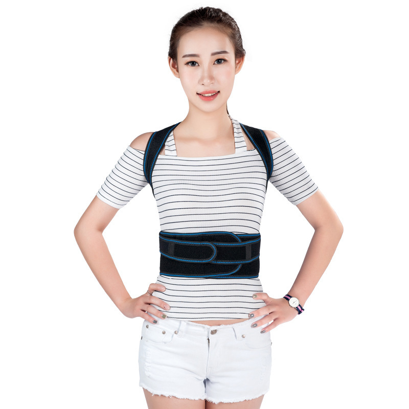 Multifunction Fixed Humpback Prevent Belt Back Shoulder Support Posture Corrector for Childrends Men Women Health Care T251 men women adjustable posture corrector belt braces support body back corrector shoulder health care 611