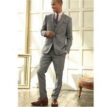 New Custom Made Mens Suits Wedding Groom Men Formal Business Suits Tuxedos For Men three-piece Jacket+Pants+Vest