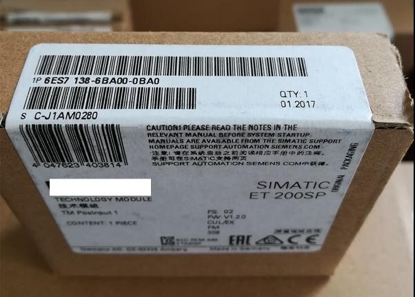 Orijinal Yeni kutusunda 6ES7138-6AA00-0BA0Orijinal Yeni kutusunda 6ES7138-6AA00-0BA0