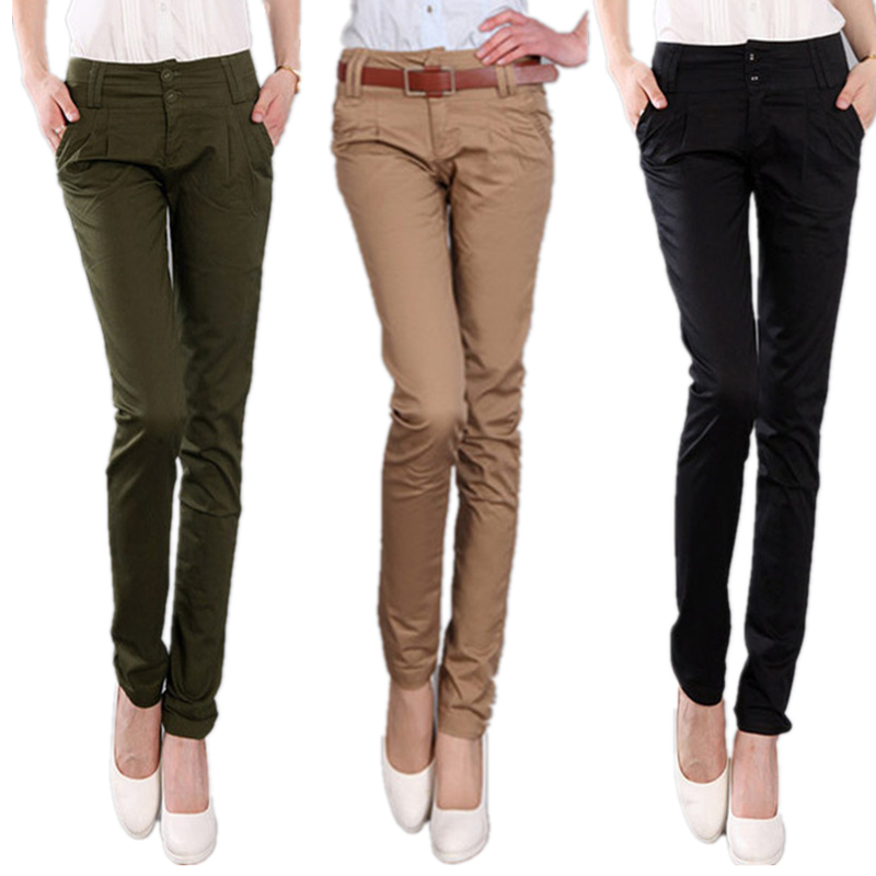 tall khaki pants for women - Pi Pants