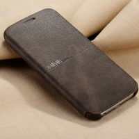 X Level Leather Phone Case For Samsung Galaxy S6 Ultra Thin Flip Full Protective Cover For