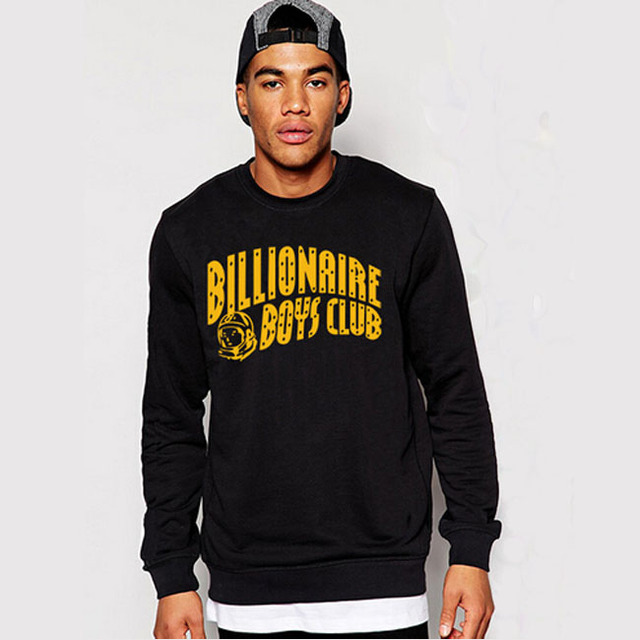 ddadd3bdce86 BILLIONAIRE BOYS CLUB 100% COTTON GRAPHIC MENS SWEATSHIRTS PYERX PLAYER  ASAP Rocky coat hoodies outers