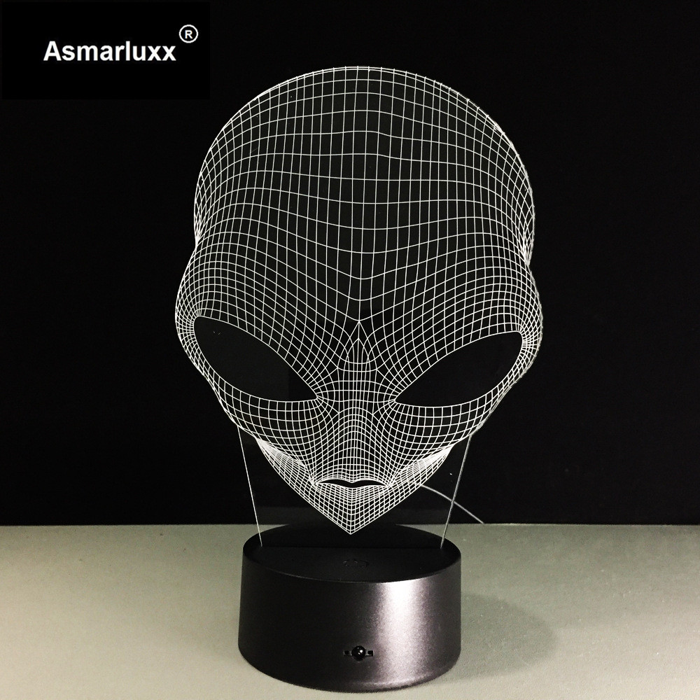Asmarluxx 3d led lamp9018
