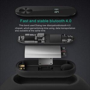 Image 5 - Banda Pulseira Smartband HORUG Inteligente Rastreador De Fitness Pulseira Inteligente Pulseira Pedômetro Esporte Heart Rate Monitor da Pressão Arterial