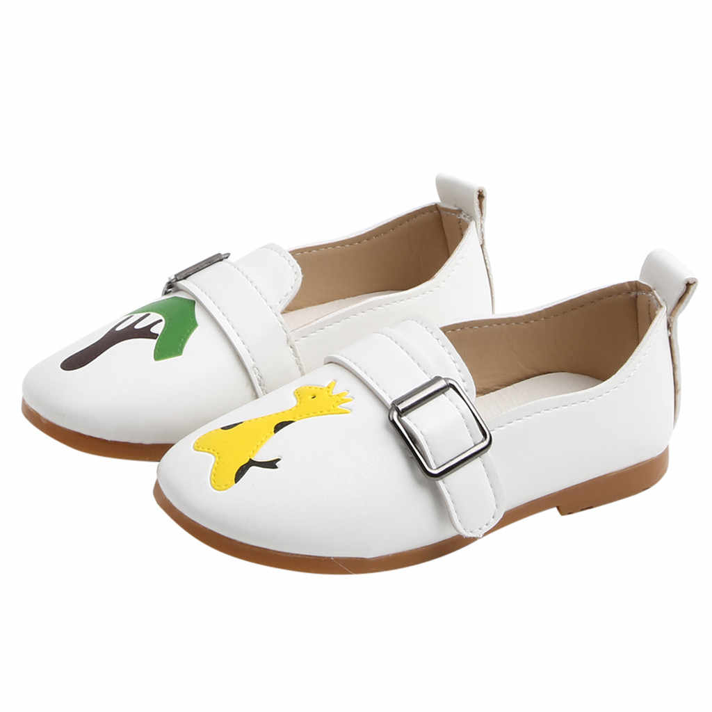Niños pequeños niñas niños zapatos para niñas bebés niñas niños zapatillas de dibujos animados mocasines Zapatos Niños zapatillas niños