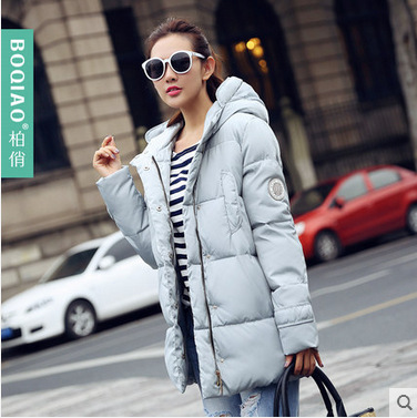 Winter Jacket Women Nice New Style Parkas Overcoat Brand Fashion Hooded Plus Size Cotton Padded Warm Jackets And Coats AW1148 купить