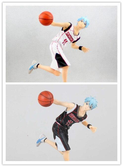 Kuroko no Basket 18cm Kuroko Tetsuya Action figure for girl Guest/Home Unifor in game pose