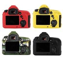 Мягкая силиконовая резина Камера тела защитный чехол кожи для Canon 5D4 5D Mark IV DSLR Камера сумка Защитная крышка