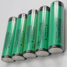 Wholesale 100PCS/LOT Protected Original Panasonic 18650 NCR18650A 3.7V Rechargeable Lithium Battery 3100mAh Batteries with PCB
