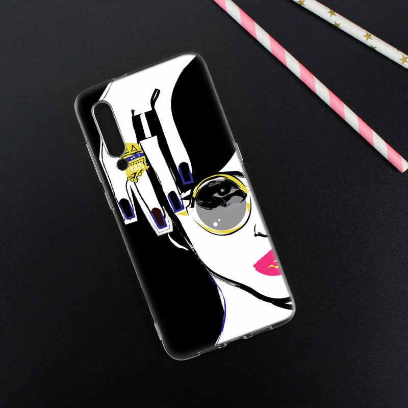 Super dziewczyna Boss silikonowe obudowa do Xiaomi Pocophone F1 9 T 9 9SE 8 A2 Lite A1 A2 Mix3 Redmi K20 7A uwaga 4 4X5 6 7 Pro S2 pokrywa