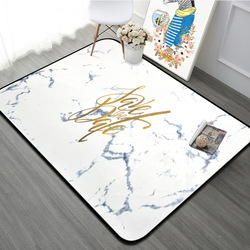 Nordic wzór marmuru złote litery duży dywan dla domu salon miękkie sypialnia po stronie stołu z dzieci dywaniki z bezpłatnym prezentem