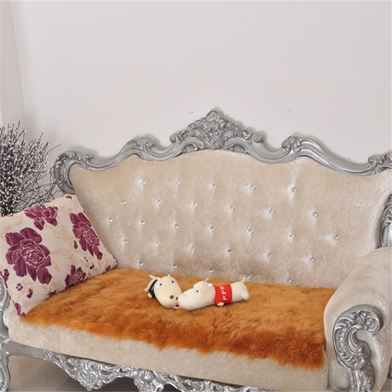 Ailaqi Australian Pure Wool Sofa Cover Leather Sofa Sets Non Slip