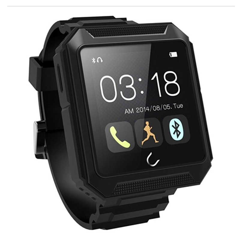 Touch Screen Waterproof Bluetooth Smart Watch Uterra Dustproof Shockproof Smartwatch For iPhone/Samsung/HTC /Smartphones m6s bluetooth smart smartwatch sim htc samsung lg iphone 6 5s