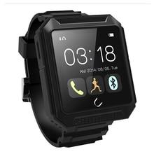 Touchscreen Wasserdichte Bluetooth Smart Uhr Uterra Staubdicht Stoßfest Smartwatch Für iPhone/Samsung/HTC/Smartphones