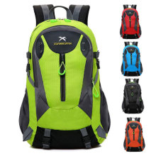 High Quality Nylon Men And Women Travel Backpack 15 inch Notebook Large Capacity Sports Backpack Camping Bag Black Red Blue все цены