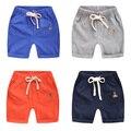 El boy pantalones cortos de verano 2017 nuevos cabritos del bebé de cinco pantalones u2594