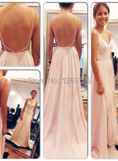 2015 High End Customized Gorgeous Custom Made Simple Prom Dress