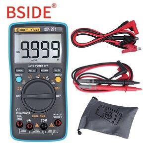 Image 2 - BSIDE ZT301 ZT302 Digital Multimeter 8000 9999 Counts True RMS Multifunction AC/DC Voltage Temperature Capacitance Tester DMM