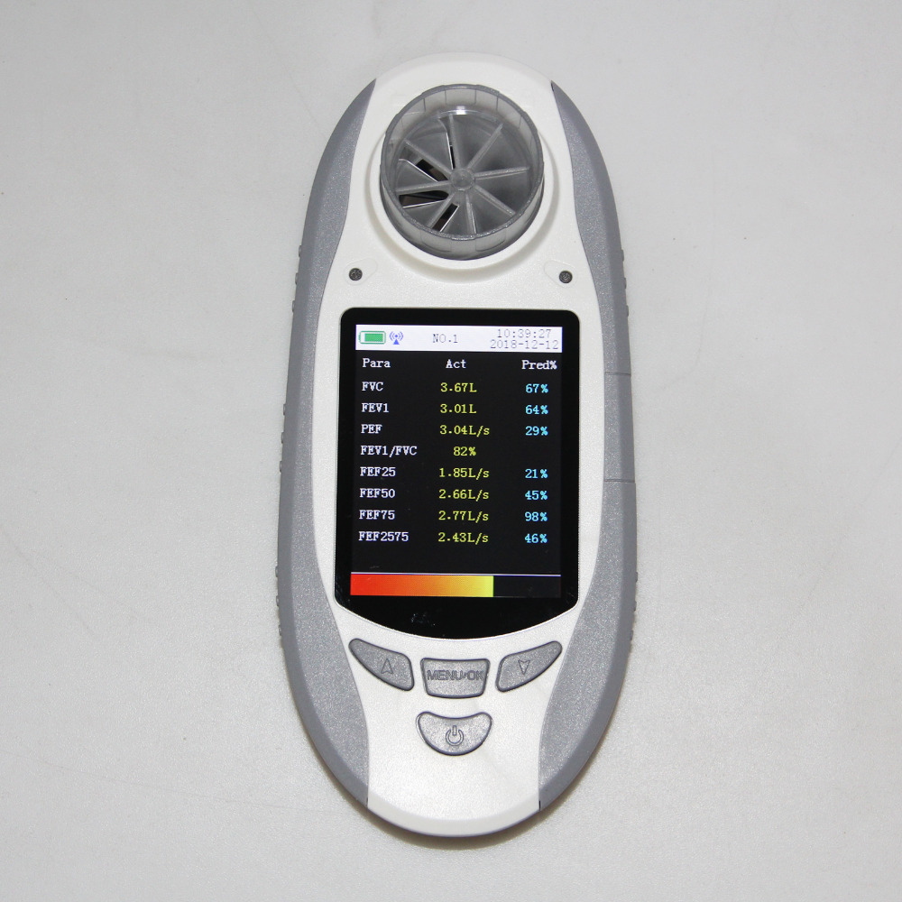 Image 4 - SP10BT Digital Spirometer Lung Volum Device Respiratory Free Mouthpieces FVC FEV-in Blood Pressure from Beauty & Health