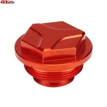 CNC Rear Brake Fluid Reservoir Cover Cap Fit For KTM SX SXF EXC EXC-F XC XC-W XCR-W XCF 125 250 350 450 525 Cross Enduro