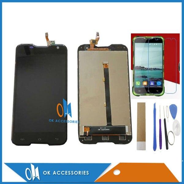 D'origine Qualité Noir Couleur Pour Blackview BV5000 LCD Display + Écran Tactile Digitizer Avec Kit PS: Pas Trempé Verre