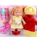 Bebe reborn de menina Crianças ursinho de peluciaspeak inteligente boneca simulação boneca adora falar brinquedos do bebê presente boneca
