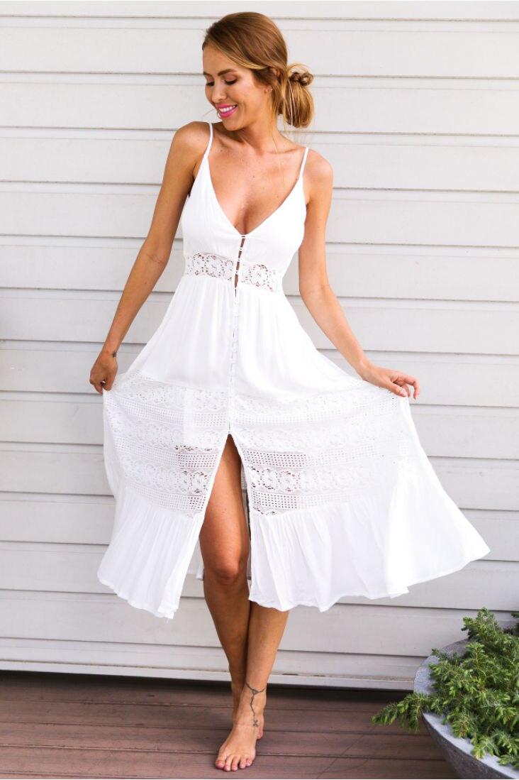 Women's Sun Dress 2 X Girls Beach Dress