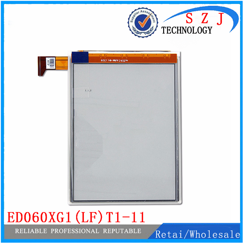 New 6'' inch E-Ink ED060XG1(LF)T1-11 ED060XG1 768*1024 lcd screen For Kobo Glo Reader Ebook eReader LCD Display Free Shipping