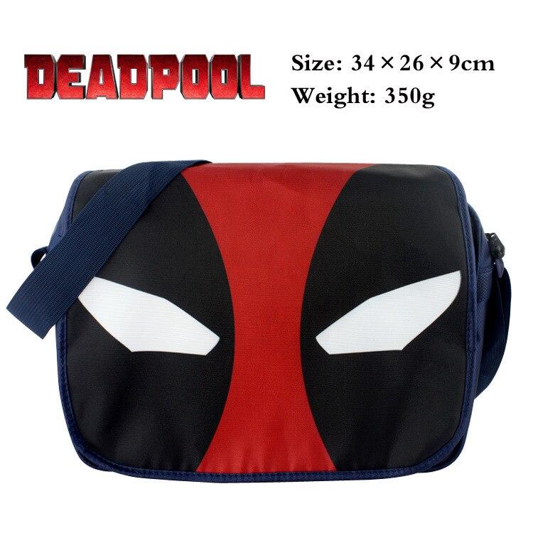 2019 Anime DEADPOOL Cosplay Shoulder Messenger bag 캔버스 핸드백 가방