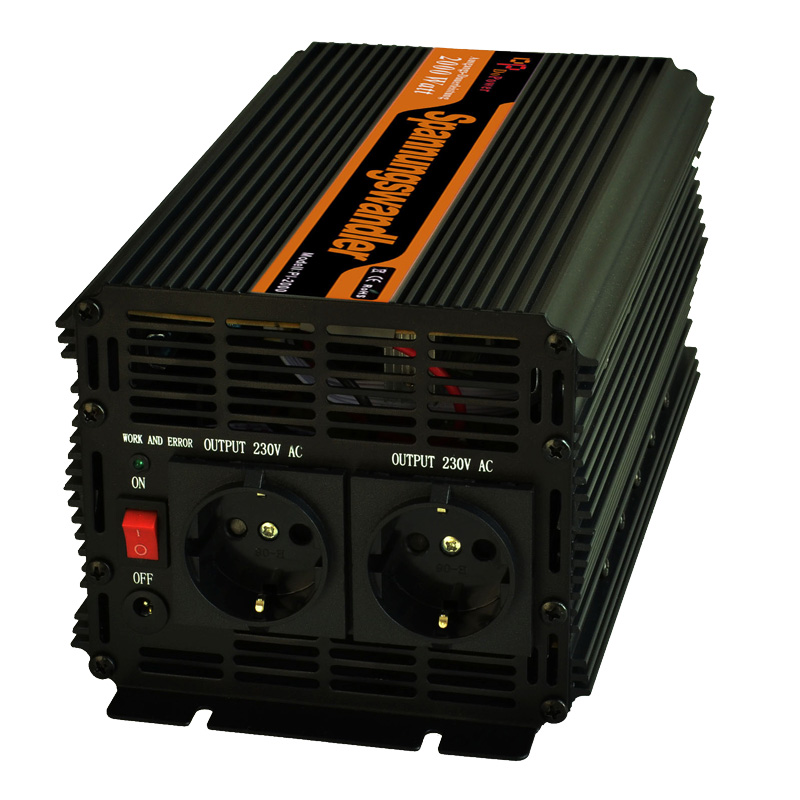 off grid  modified sine wave power Inverters  DC 24v  to AC 110V 220v 230V  converters 4000w  peak 2000w micro inverters on grid tie with mppt function 600w home solar system dc22 50v input to ac output for countries standard use