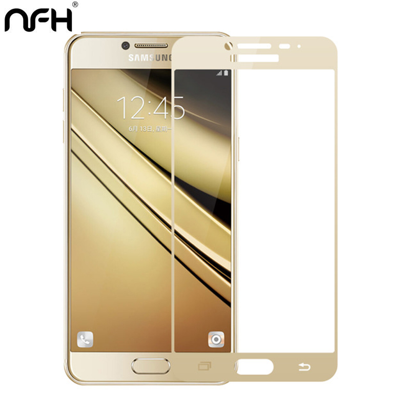 NFH For Samsung Galaxy C7 Pro C7 temepred glass Explosion  Protection Full screen Cover protective  Film on C5 c5000 C7000 c7NFH For Samsung Galaxy C7 Pro C7 temepred glass Explosion  Protection Full screen Cover protective  Film on C5 c5000 C7000 c7