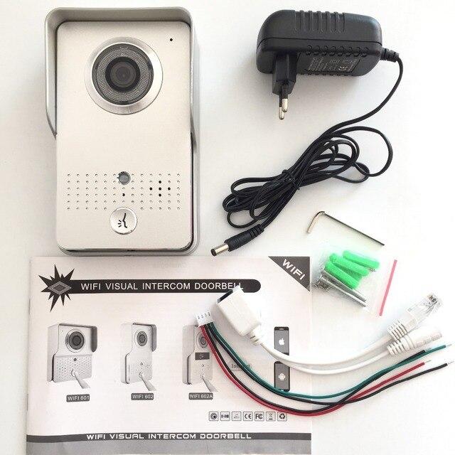 3G/4G WIRELESS POE  WIFI DOOR BELL OUTDOOR WATERPROOF ALUMINUM PANELS CAMERA INTERCOM DOORBELL WITH SMARTPHONE CONTROL