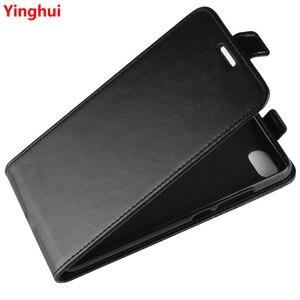 Image 1 - Redmi 6A يصل أسفل عمودي محفظة قلابة حافظة بطاقات جلدية حالة ل Xiaomi Redmi 6A كامل واقية الهاتف غطاء حالة