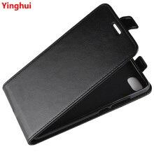 Redmi 6A étui à porte cartes en cuir Vertical à rabat pour Xiaomi Redmi 6A étui de protection complet pour téléphone