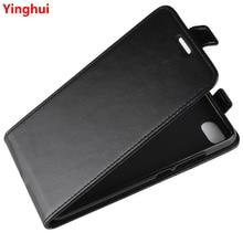 Redmi 6A w górę w dół pionowe etui flip wallet skórzany uchwyt na karty obudowa do Xiaomi Redmi 6A pełna ochronna telefon pokrywy skrzynka