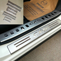 Stainless Steel Door Sill Scuff Plate For Mazda CX-5 CX5 2012 2013 2014 2015 Accessories Pedal Plate Styling Door Cover Pads