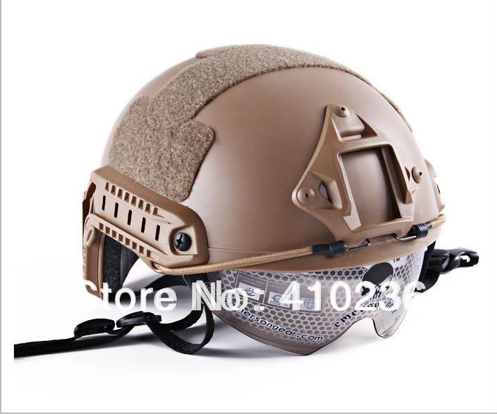 2015NEW Emerson FAST Helm met beschermende bril Base Jump Type helm - Sportkleding en accessoires