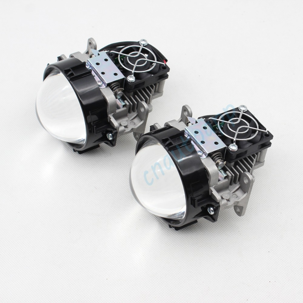 Mobil LED Lampu Auto Lens headlight 90 W Hi / Lo Beam 3.0 Inches - Lampu mobil - Foto 4