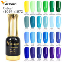#60751 CANNI supply venalisa 120 neon color 12ml gel uv led nail enamel nail art tips diy UV nail gel polish lacquer gel varnish