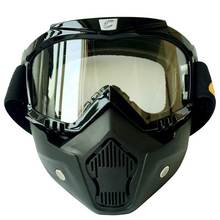 Motocicleta al aire libre Enmascaran Gafas de Ciclismo UV400 Anti Viento Airsoft Gafas De Esquí Senderismo Gafas Gafas de Esquí gafas de Sol