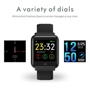 Image 2 - COXANG Q9 Smart Watch Men/Women Blood Pressure Heart Rate Monitor Fitness Tracker Waterproof Sport Smartwatch For Android IOS