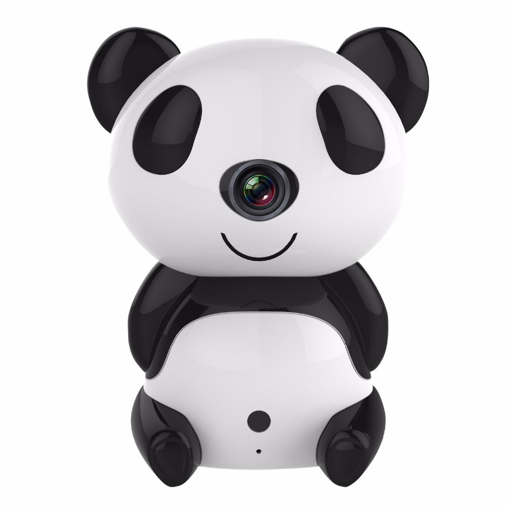 SANNCE HD 720P Wireless IP Camera Day/Night Wi-Fi Baby Moniitor Cute Panda Cloud 30ft Night Vision Surveillance Security CameraSANNCE HD 720P Wireless IP Camera Day/Night Wi-Fi Baby Moniitor Cute Panda Cloud 30ft Night Vision Surveillance Security Camera