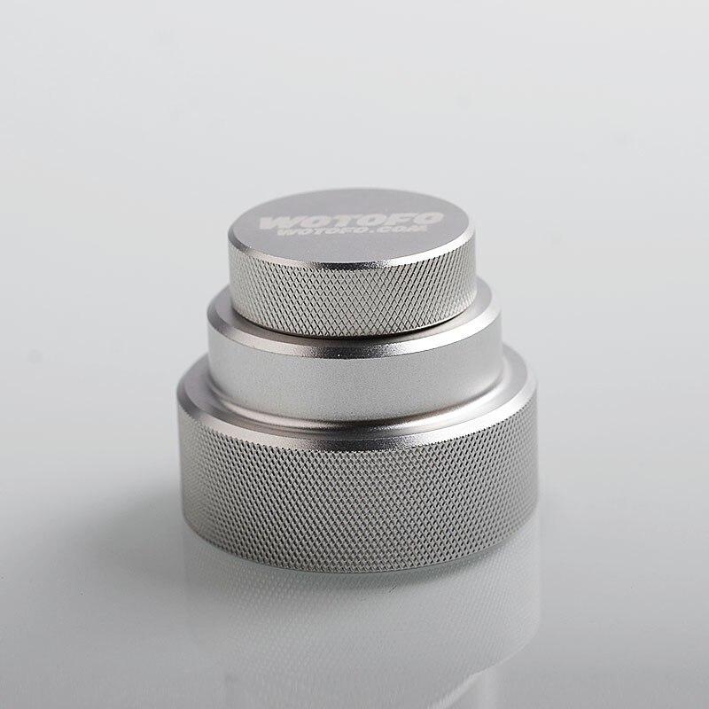 Originale Wotofo Facile Fill Squonk Tappo In Alluminio per 100 ml Bottiglia di succo E/Squonker Fondo Feeder BF Squonk Box Vape Mod