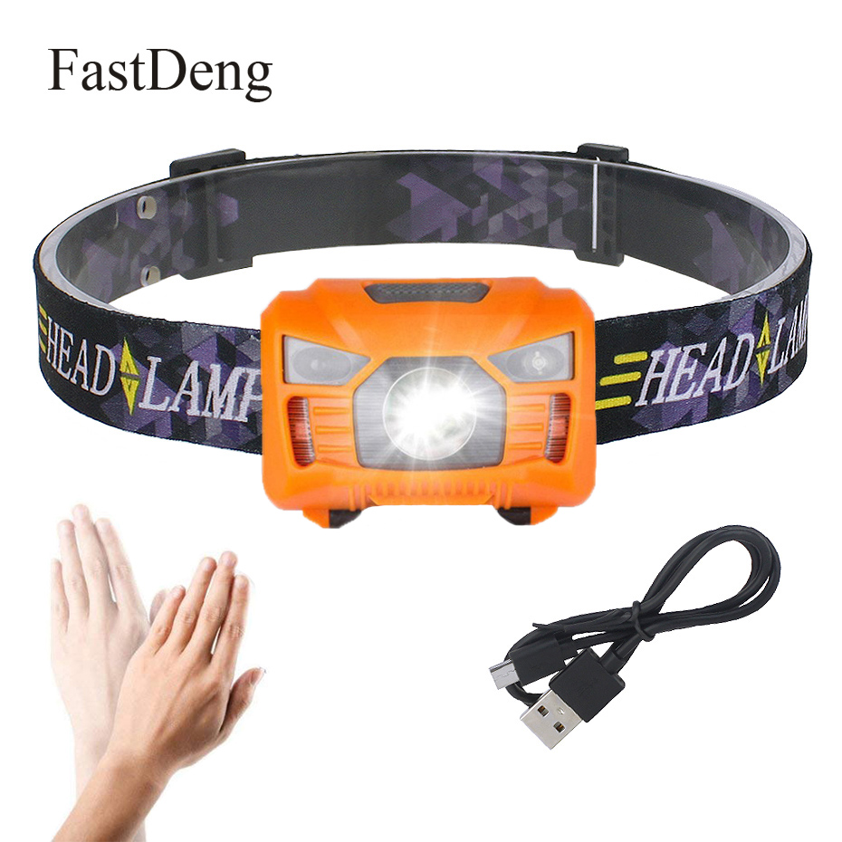 Mini Rechargeable LED Headlamp 3000Lm Body Motion Sensor Headlight Camping Flashlight Head Light Torch Lamp With USB Flashlight Mini Rechargeable LED Headlamp 3000Lm Body Motion Sensor Headlight Camping Flashlight Head Light Torch Lamp With USB Flashlight