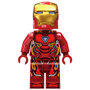 Image 5 - 608PCS Small Building Blocks Toys Compatible Lepinging Iron Man Hall of Armor Marvel Super Heroes Avengers Gift for girls boys