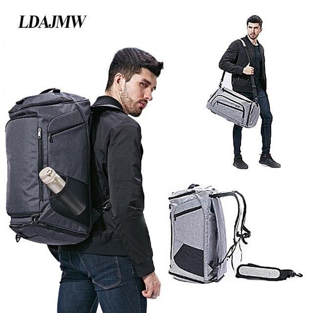 Bolsa de hombro con separación de ropa seca y húmeda, bolso deportivo para Fitness, equipaje de negocios, ropa, zapatos, bolsa de almacenamiento, organizador de accesorios