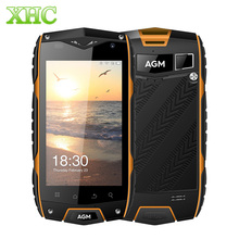 4 г LTE AGM A7 мобильного телефона IP68 водонепроницаемый 4.0 дюймов Android 6.0 MSM8909 Quad Core 2 ГБ оперативной памяти 16 ГБ ROM 8MP 2930 мАч GPS samrtphone