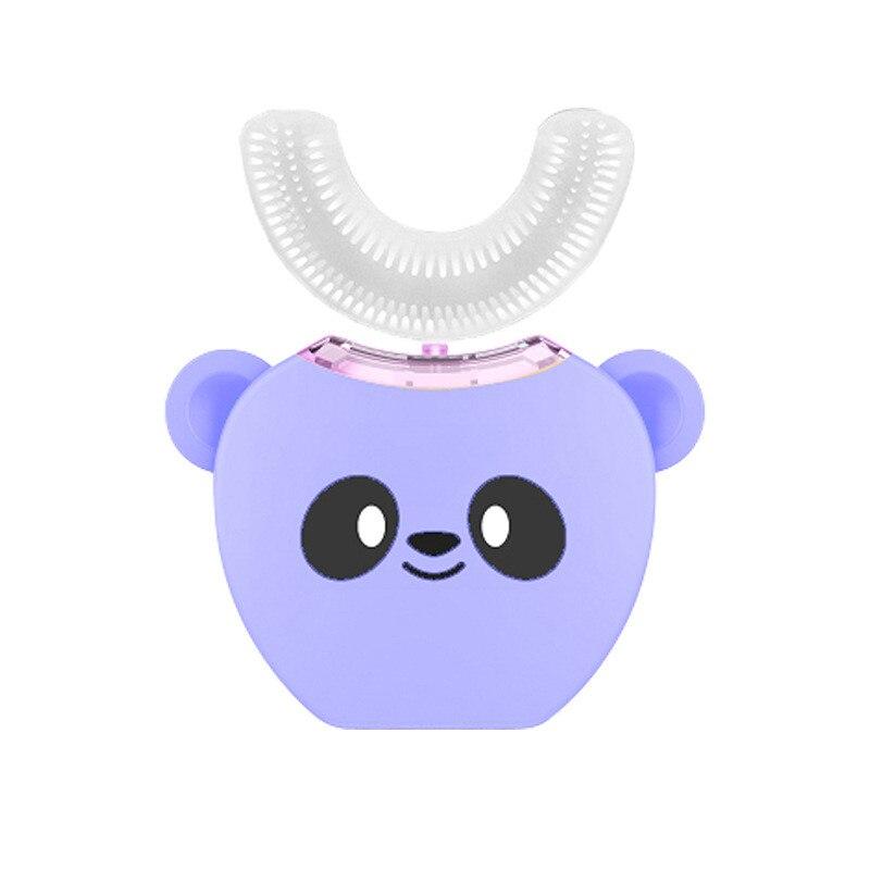 360 degrés brosse à dents électrique sonique automatique intelligente Type U brosse à dents USB charge dents blanchiment lumière bleue
